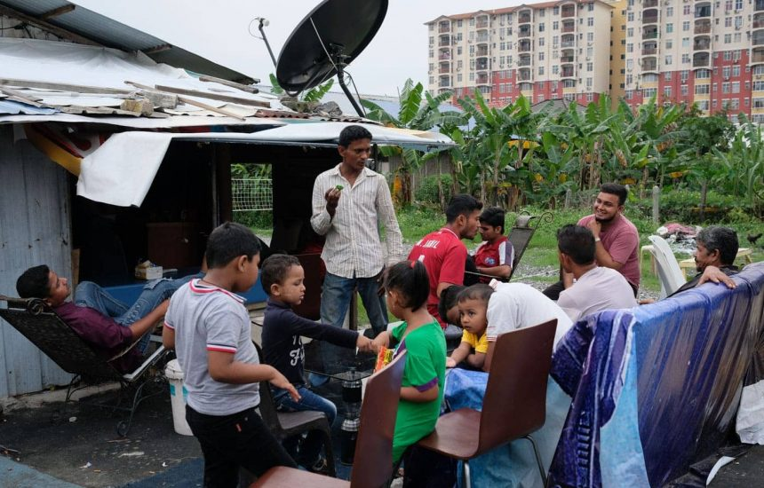 Rohingya refugees have put together a semblance of a life and normalcy in Malaysia, such as in this settlement near Batu Caves.